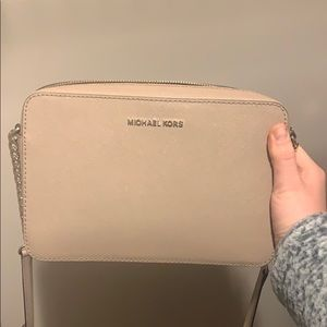 Michael Kors Nude CrossBody Purse